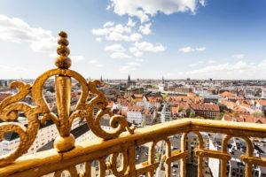 View of Copenhagen, Denmark
