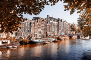 Autumn in Amsterdam, the Netherlands