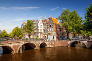 Keizersgracht in Amsterdam, the Netherlands