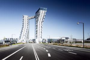 Bella Sky Hotel mit moderner Architektur in Kopenhagen, Ørestad, Dänemark, Skandinavien