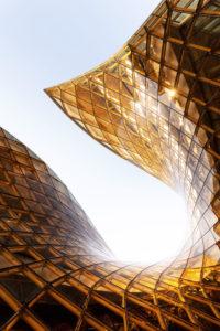 Emporia Einkaufszentrum mit moderner Architektur in Malmö, Schweden