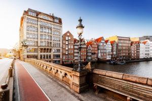 Nikolaifleet in Hamburg's old town