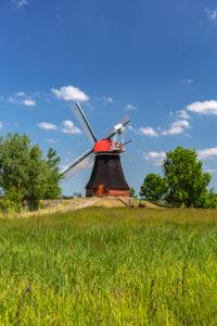 Screw pump mill Wynhamster Kolk, Rheiderland, East Frisia,