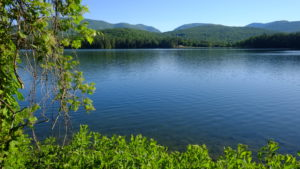 Cooper Lake, NY is the largest lake in the Catskill Mountains. Lake is protected as it supplies drinking water to the city of Kingston