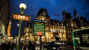 Europe, France, Paris, Hotel de Ville,
