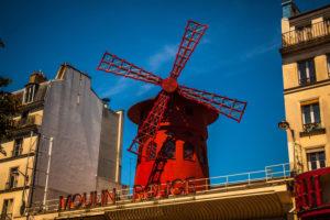 Europa, Frankreich, Paris, Moulin Rouge, Nachtclub