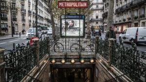 Europa, Frankreich, Paris, Notre Dame de Champs, Metro
