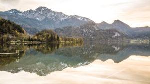 Europa, Deutschland, Bayern, Walchensee