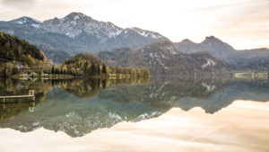 Europe, Germany, Bavaria, Walchensee (Lake Walchen)
