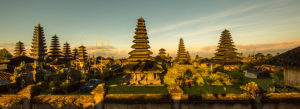 Pura Besakih, mother temple of all Balinese sanctuaries, all principalities maintain their own temple in this complex