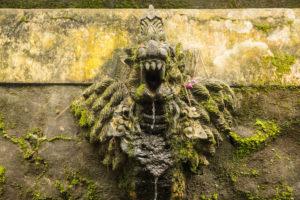 Relief in a temple complex near Jatiluwih, Bali