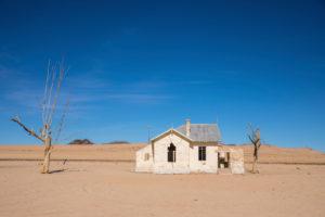 verlassenes Haus im Südwesten Namibias