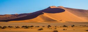 Dunes in Sossuvlei