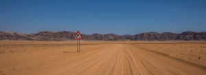 Strasse im Damaraland