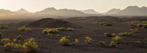 karge Landschaft in den Hartmannbergen