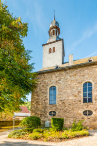 Evangelical parish church in Simmertal, on the middle Nahe, Bad Kreuznach district,