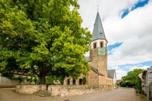 ev. Kirche Gustav Addolph in Pfaffen-Schwabenheim, Rheinhessen,