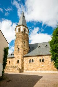 Evangelical Church Gustav Addolph in Pfaffen-Schwabenheim, Rheinhessen,