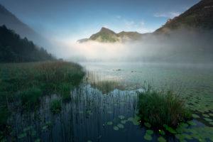 Lago d'Ampola, Trentino, Italien
