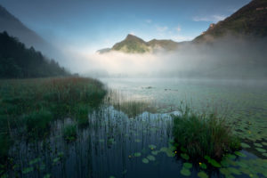 Lago d'Ampola, Trentino, Italy