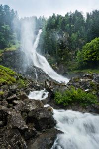 Wasserfall im Val Genova, Italien