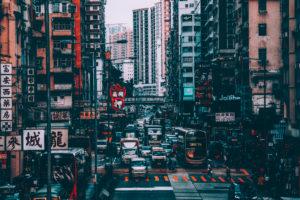 Asia, China, Hong Kong, Kowloon, city life