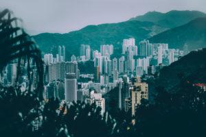 Asia, China, Hong Kong, Hong Kong Island, Victoria Peak