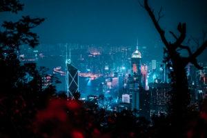 Asien, China, Hongkong, Victoria Peak