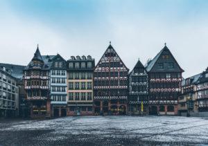 Europa, Deutschland, Hessen, Frankfurt, Römerberg, Rathausplatz, Samstagsberg