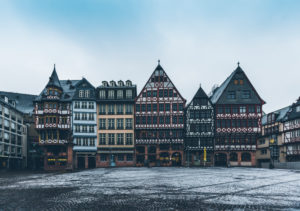 Europe, Germany, Hesse, Frankfurt, Römerberg, Rathausplatz, Saturday mountain