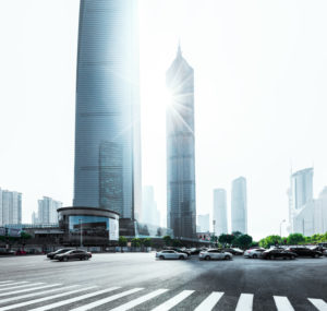 Asia, China, Shanghai, Pudong, Shanghai World Financial Center, Jin Mao Tower,