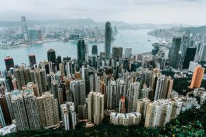 Asien, China, Hongkong, Hong Kong Island, Victoria Harbour