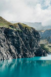 Europe, Austria, Vorarlberg, Alps, Eastern Alps, Lünersee, Rätikon
