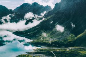 Europe, Austria, Vorarlberg, Alps, Eastern Alps, Lünersee, Rätikon,