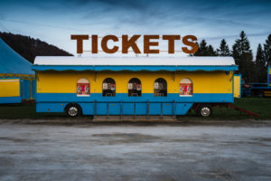 Ticket cart, Circus