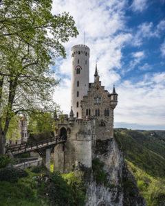 Schloss Lichtenstein, Märchenschloss Württembergs, Reutlingen, Baden-Württemberg, Deutschland, Europa
