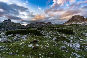 Naturpark Drei Zinnen, Tre Cime Di Lavaredo, Dolomiten, Südtirol, Italien, Europa