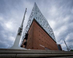Elbphilharmonie, Elphi, Hamburg Germany, architecture, perspective