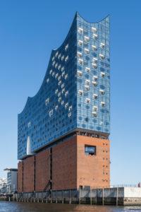 Elbphilhamrmonie, Elphi, Konzerthaus, Hamburg, Germany, Architecture Sandtorhöft view