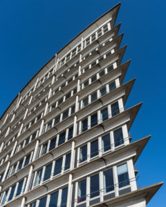 Building, re top, Hamburg, Germany, architecture
