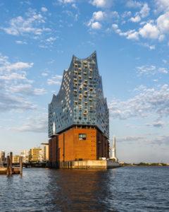 Elbphilhamrmonie, Elphi, Konzerthaus, Hamburg, Germany, Architecture, Niederhafen-Ansicht