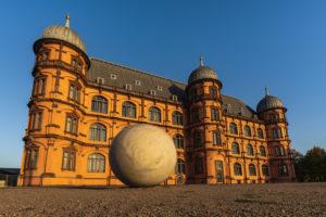 Schloss Gottesaue, Renaissance-Schloss, Karlsruhe, Deutschland, Europa