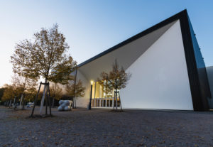 Architektur, Multimediakomplex, Karlsruhe, Deutschland, Europa