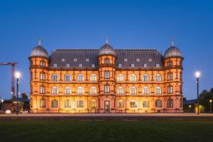 Schloss Gottesaue, Renaissance Castle, Karlsruhe, Germany, Europe