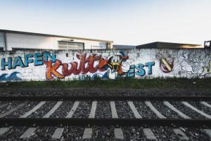 Graffiti, Urban, Streetart, Bahngleis, Hafen, Rheinhafen, Karlsruhe, Deutschland, Europa