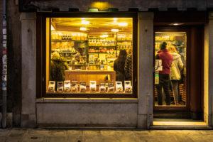 Bäckerei, Venedig, historisches Zentrum, Venetien, Italien, Norditalien, Europa