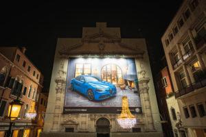 Reklame, Venedig, historisches Zentrum, Venetien, Italien, Norditalien, Europa