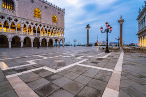 Venice, St. Mark's Square, Doge's Palace, historic center, Veneto, Italy, northern Italy, Europe