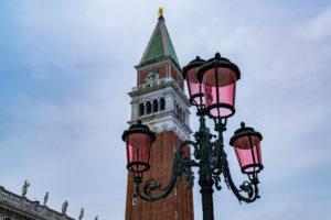 Markusturm, Venedig, historisches Zentrum, Venetien, Italien, Norditalien, Europa