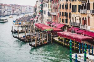 Canal Grande, Venedig, historisches Zentrum, Venetien, Italien, Norditalien, Europa